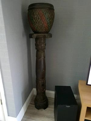 Tall Jardiniere Plant Stand Plant Pot Antique Posot Class