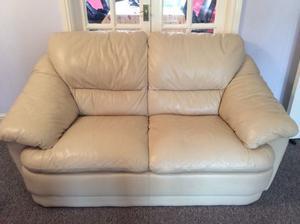 2 three leather sofas. 2 two leather sofas.