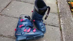 ski boots salomon evolution mondo size 255 posot