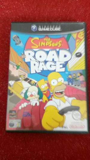 Nintendo gamecube simpsons road rage