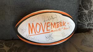 Signed Gloucester Rugby Ball