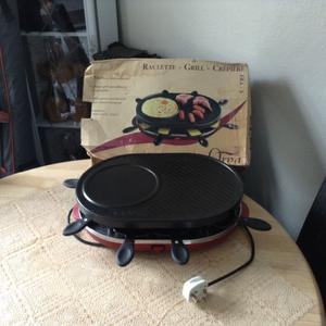 Raclette/ creperie grill