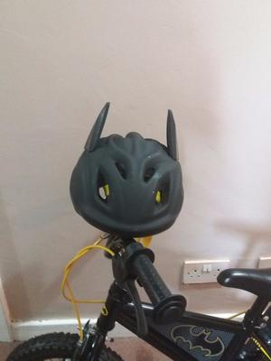 "14"" batman bike with helmet"