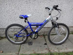Boys bikes to suit age 7 to 9 years 20 inch wheels £40 each Apollo FS20 Pro bike alien