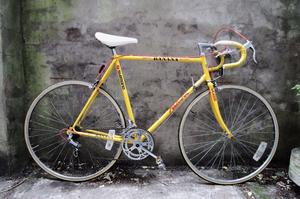 FALCON BANANA TEAM, 23 inch, 59 cm, vintage racer racing road bike, 10 speed