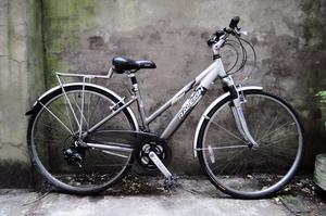 RALEIGH P ALU, 16 inch, 41 cm, ladies womens hybrid road bike, 21 speed