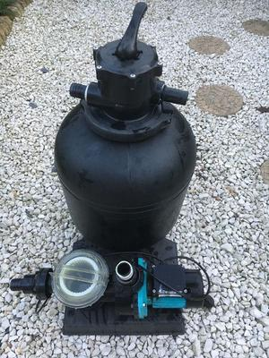 Swimming Pool Filter and Pump - Star-Rite Onga