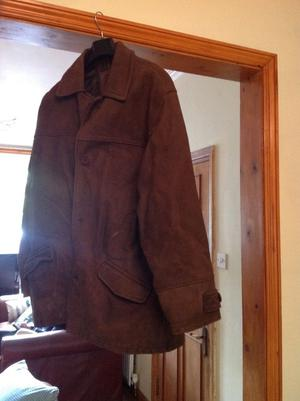 Quality suede leather jacket from debenhams