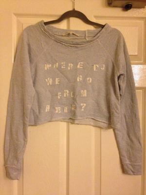 River Island Cropped Jumper
