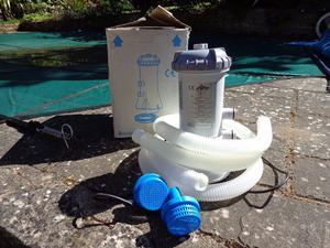 Krystal Klear Wet Set Intex Pool Filter Pump