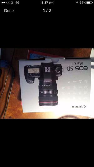 Canon 5D Mark ii DSLR Camera for Video and Photography
