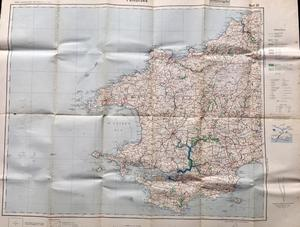 's German Military Map of Pembrokeshire