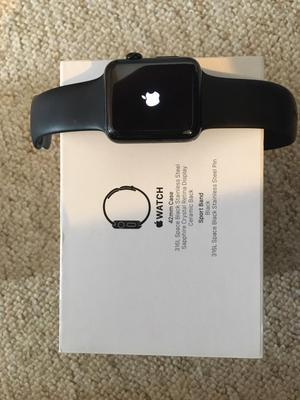 Apple Watch - 42mm stainless steel & sapphire glass