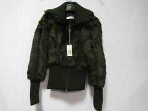 Lunatic Long Sleeve Short Faux Fur Ladies Jacket