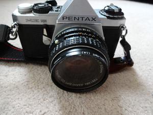 Pentax ME Super 35mm Film Camera with Pentax-M mm SMC Lens