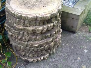 Garden Stones Large : Garden stepping stones