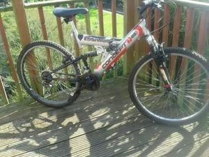 Mountain Bike, 21 speed, 26In Wheels, Revoshift, Shimano