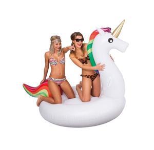 New White Unicorn Inflatable Pool Float