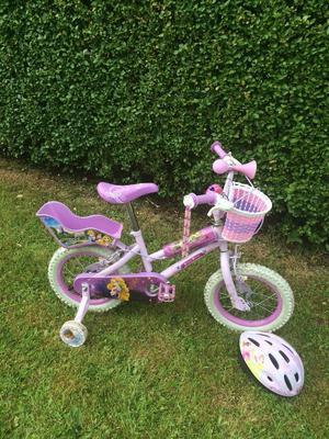 Girls bike - 14 inch Disney Princess Bike