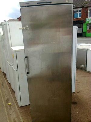 Stainless steel fridge, Siemens