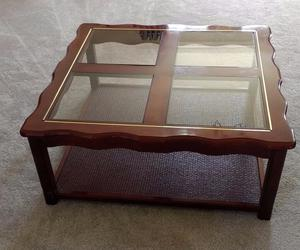 Console Table Glass Top Posot Class