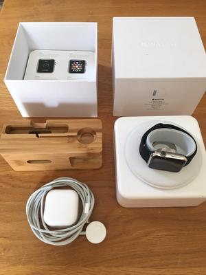 Apple Watch 42mm Stainless Steel Bundle -with a choice of straps