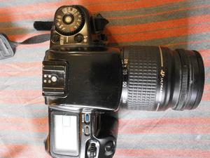 Canon Camera, EOS100 + filters + flash. Very good condition