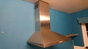 60cm Stainless Steel Chimney Cooker Hood - 3 speed & 2