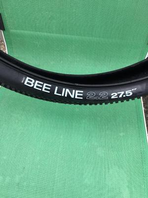WTB Beeline b) mountain bike tyre. Only used a couple of times so nearly new.