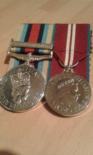 Medal mounting service Bolton and north West