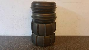 Hpi baja rc sand paddle tyres on hpi rims