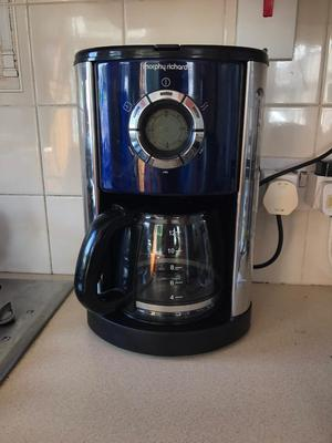 Morphy Richards Coffee Maker Not Working : Vonshef filter coffee maker with grinder Posot Class