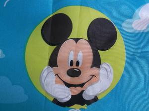 Boys Girls Baby Disney Mickey Mouse Donald Duck Curtains Tape Top