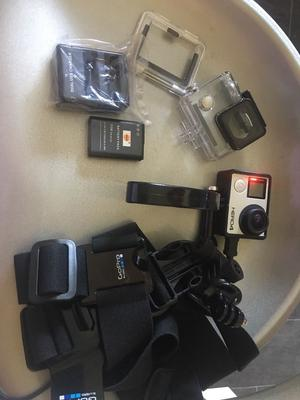 GoPro hero4 hero 4 black edition 4K action camera camcorder with extras