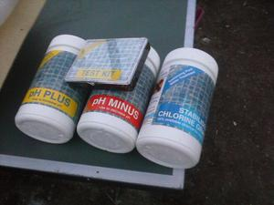 swimming pool water treatment kit