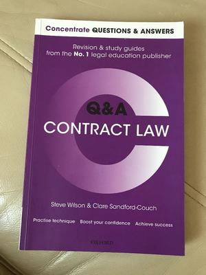 law of contract study guide