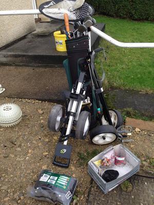 Golf clubs. Golf clubs. Huddersfield