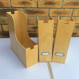 Ikea Wooden A4 Organisers