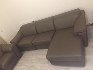 Natuzzi Editions - Sensor Leather Corner Chaise