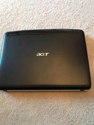 Acer laptop and case