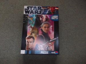New Star wars jig saw puzzle  pieces