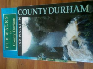 Pair of County Durham walking books
