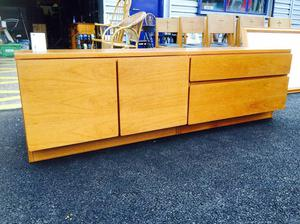 Mid Century Teak Sideboard - Retro and Vintage
