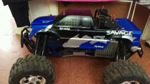 HPI Savage RC nitro car