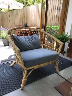 ikea king sundnes wicker rattan hackney n16 posot class. Black Bedroom Furniture Sets. Home Design Ideas