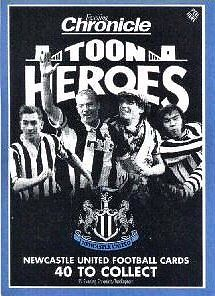 TOON HEROES....NEWCASTLE EVENING CHRONICLE...40 CARDS....