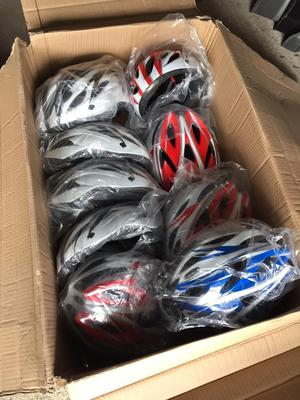 Job lot helmets, knee pads, shin pads, elbow pads