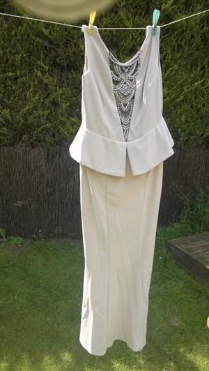 cream quiz dress size 14