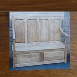 Solid oak furniture no screws or nails, traditional jointed and glued construction
