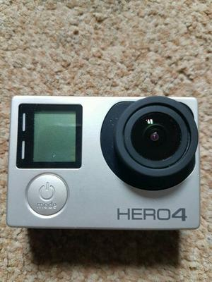 Gopro Hero 4 Silver (Excellent condition)
